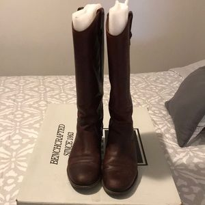 FRYE Melissa button extended calf boots